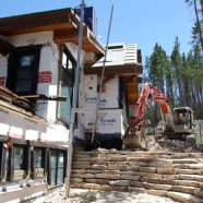 H2 . Retaining Wall in the back 6.22.12